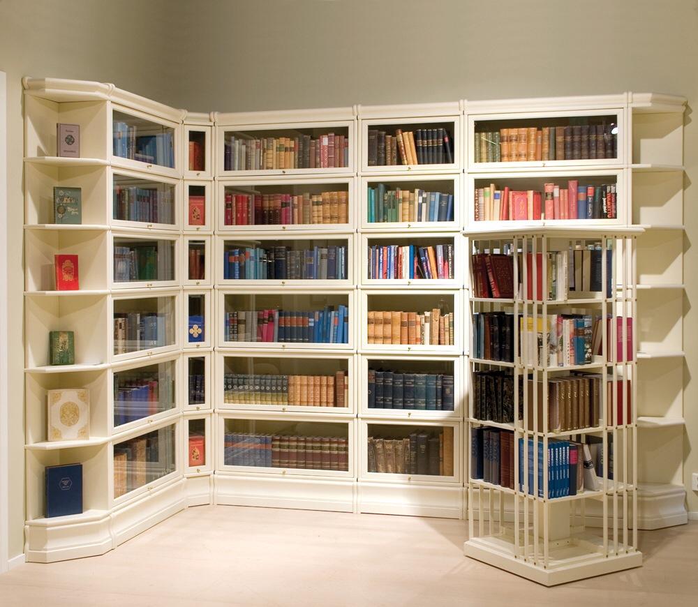 Кабинет для библиотеки на заказ от производителя в москве. и.